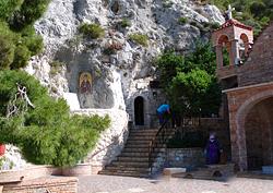 Лутраки. Монастырь